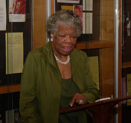 Homage to Dr. Maya Angelou - A blogpost by Dr. Carolle Jean-Murat, M.D.