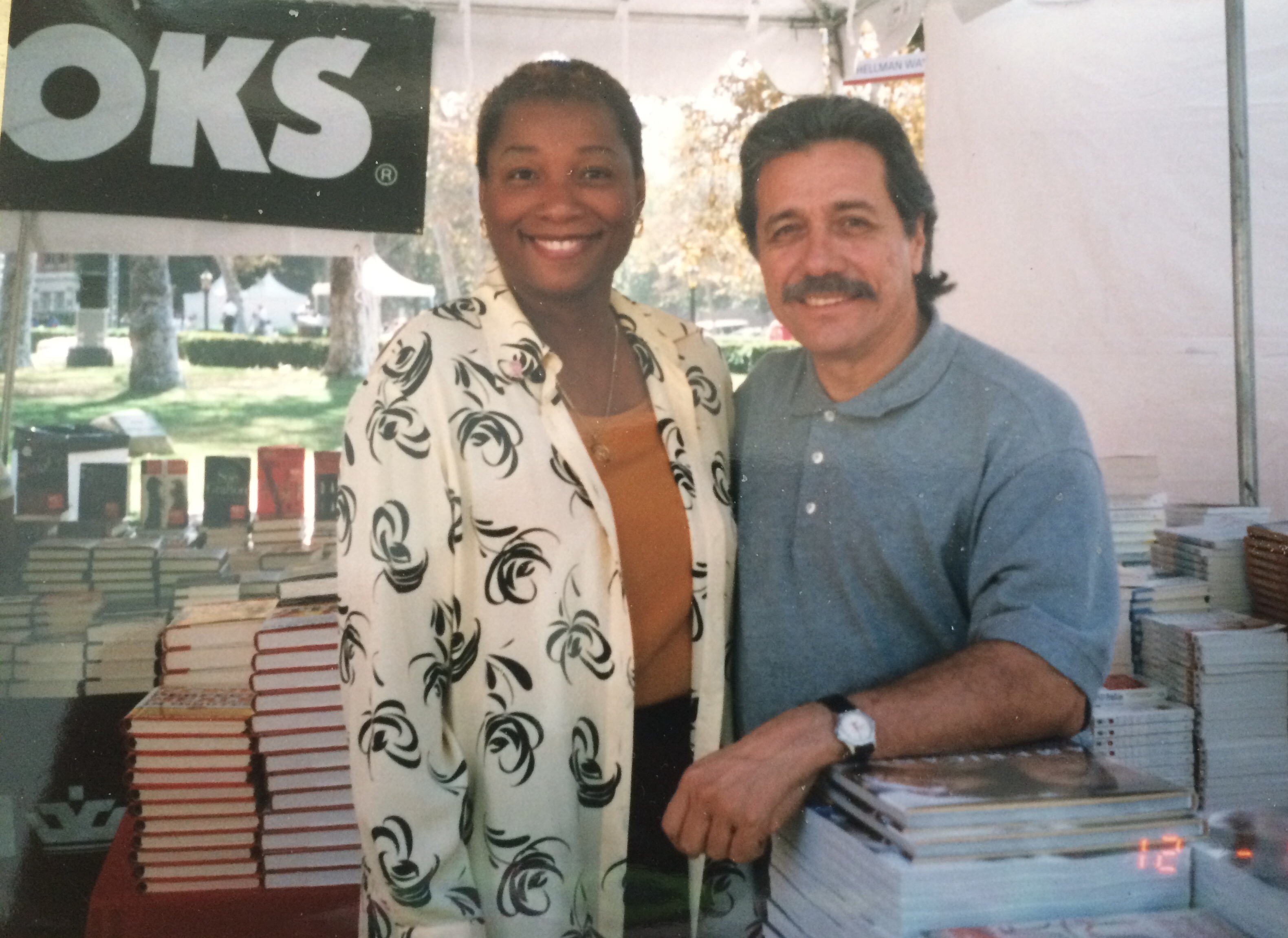 In October 1999 both Mr. James Olmos and I were among the many speakers and authors at the University of Southern California - USC in LA.